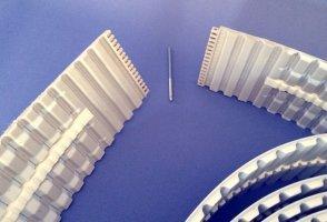 : Courroies dentées synchrones à guide soudé