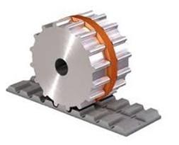 Courroies dentées synchrones à profil de guidage easy drive®