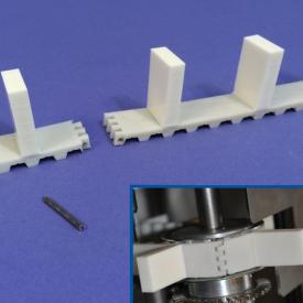 Courroie dentée T10 ERO Joint HP (hinge pin) avec tasseaux