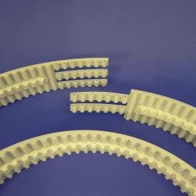 Courroie dentée T10 ERO Joint avec guidage et revêtement